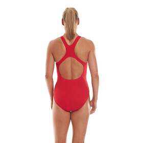 speedo Essential Endurance+ Medalist Swimsuit Women Fed Red